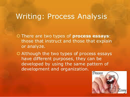 process analysis essay 4 writing process analysis there are two types