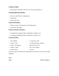 Resume Examples Microsoft Word Microsoft Word Resume Formats Resume Format Word Resume Template For