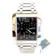 fendi chronograph rectangular stainless steel men s watch likosh fendi chronograph rectangular stainless steel men s watch