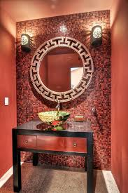 Small Picture orange county Quatrefoil Mirror fashion powder room asian with