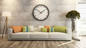 living room wall clocks. How To Hang A Giant Wall Clock In Your Living Room Clocks V