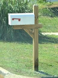 Unique Wood Mailbox Posts nzbmatrixinfo