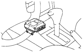 toyota camry cannot locate computer in the car the airbag sensor assembly is mounted on the floor inside the lower center finish panel the airbag sensor assembly consists of an airbag sensor