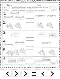 More Less Worksheets Kindergarten Or Worksheet With Pictures Free ...