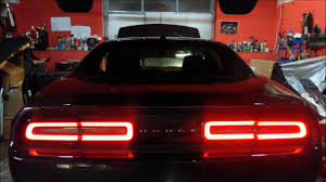 Challenger Sequential Lights Challenger 2015 Sequential Euro Eu Taillights Tail Lights Europejskie European Led
