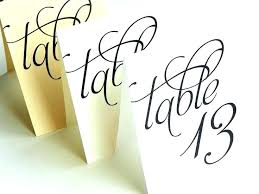Table Number Cards Template Escort Place Editable Ms Word