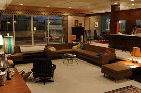 mad men living room view in gallery
