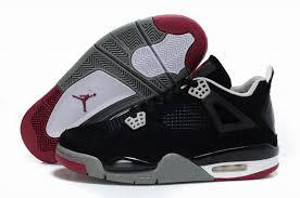 jordan shoes retro 4. mens air jordan 4 retro shoes black grey . r