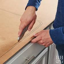 step 1 make a countertop template