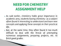 chemistry assignment help chemistry applications 9
