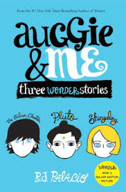 auggie me three wonder stories read an excerpt of this book
