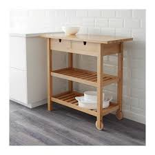 FRHJA Kitchen cart - IKEA - Many small spaces have no extra counter space  - this