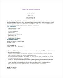 airline resume format 6 flight attendant resume templates pdf doc free premium