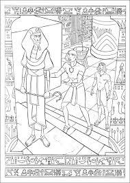 Kleurplaten En Zo Kleurplaat Van Prins Van Egypte