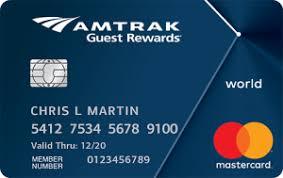 Amtrak Guest Rewards Redemption Chart Boa Amtrak Guest Rewards Credit Card Review 2019 11 Update