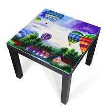 Banjado Glasplatte Für Ikea Lack Tisch 55x55cm Abdeckplatte