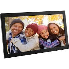 aluratek awdmpf117f 17 3 wi fi digital photo frame