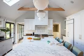 vaulted ceiling kitchen transitional kitchen fiorella design lighting for cathedral ceiling in the kitchen