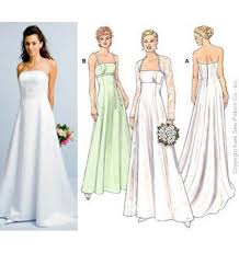 Wedding Dress Patterns To Sew Delectable Unique Colorful Wedding Dress Sewing Patterns 48 About Modern