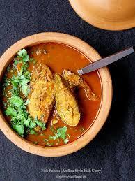 fish pulusu andhra style fish curry recipe