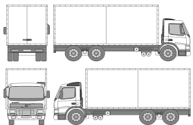 Semi Truck Size Chart Volvo Fm7 Truck Blueprint Volvo Trucks Trailer Plans