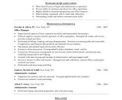 Beautiful Office Resume Format Doc For Back Executive Assistant Ieee