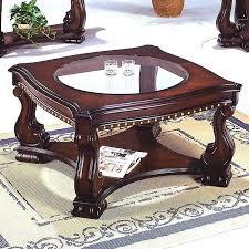 nailhead coffee table cocktail table nailhead wood inlay coffee table