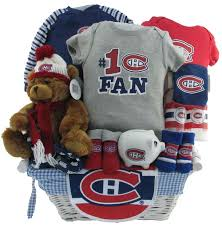 montreal canadians baby gift deluxe