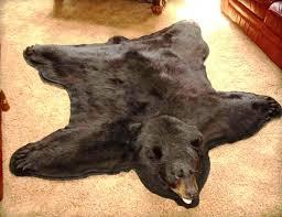 bear skin rug faux astounding fake bear skin rug fake bear skin rug with head for bear skin rug faux