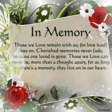 In Memory Quotes New 48 In Memory Quotes And Sayings