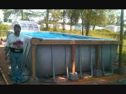 Intex Rectangular Pool with Deckwmv YouTube