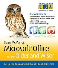 book microsoft office 2010 and 2007 for the older and wiser by sean book cover microsoft office for the older and wiser