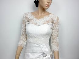 Lace Bolero Jacket Bridal Bolero Wedding Jacket Wedding
