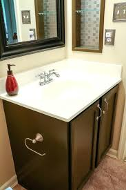 Painting bathroom vanity before and after Vanity Makeover Painting Bathroom Vanity After Guest Bathroom After Painted Guest Bathroom Vanity Chalk Paint Bathroom Vanity Home Design Ideas Painting Bathroom Vanity After Guest Bathroom After Painted Guest