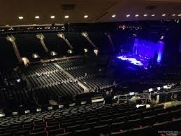 concert seat view for madison square garden section 209 row 16