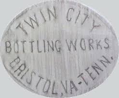 twin city glass a rubbing of a twin city bottling company slug plate bottle twin city