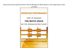 Read Online Improving Performance How To Manage The White
