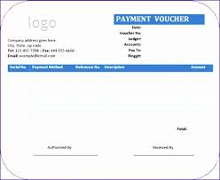 Blank Payment Voucher Template