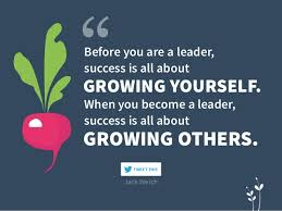 Think Of Others Before Yourself Quotes Best of GROWING YOURSELF GROWING OTHERS Before