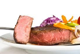 broil rib eye steak in electric oven
