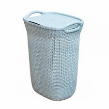 <b>Корзина для белья Curver Knit</b> 57л голубая – купить недорого в ...