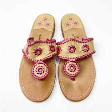 Jack Rogers Pink Hampton Sandal