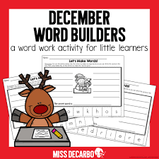 Christmas worksheets and printables bring merriment and cheer to learning this holiday season. Free Christmas Activities Ideas And Games For Literacy Miss Decarbo