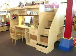 low loft bed with desk bunk bed with desk plans inspiring low loft beds for s