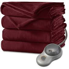 Sunbeam Heated Blanket Red Light Blinking 3430 Electric Free Clipart 12