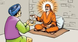 Image result for images of shirdisaibaba giving udi