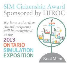 Sim Citizenship Award We Have A Shortlist Sim One