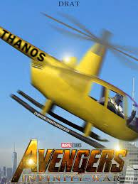 Let's be honest. The Thanos-Copter ...