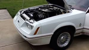 1984 Ford Mustang GT 350 20th Anniversary - YouTube