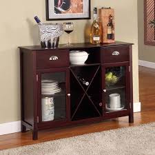 buffet with wine rack.  With Buffet Server Wine Rack  Cherry On With O